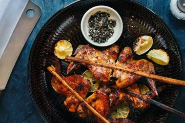 Ailes de poulet à la cannelle