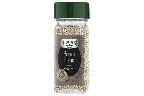 Poivre blanc en grain