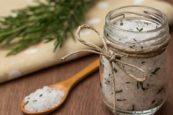 sel de décoration